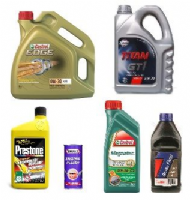 Oils, Greases, Coolants & Additives